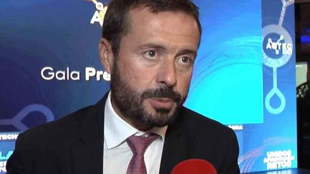 José Luis Escudero en la gala.