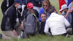 Tom Felton, en la Ryder Cup