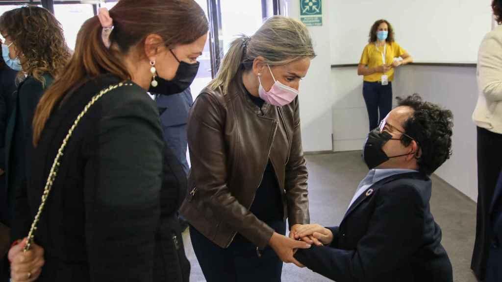 Tolón en la constitución de la Plataforma Estatal de Representantes de Personas con Discapacidad Intelectual y del Desarrollo en Toledo.