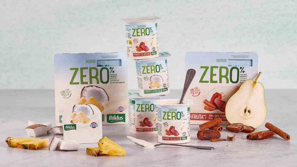 Los nuevos Bífidus Zero% de piña y coco y de pera, dátil y canela