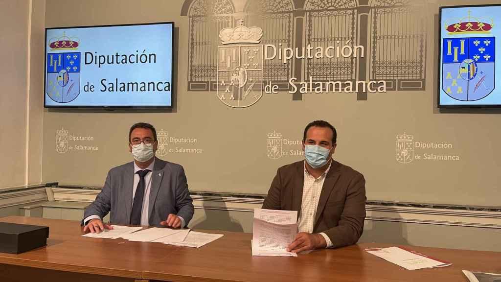 Firma del protocolo entre la Diputación de Salamanca y el Ayuntamiento de Lebrija