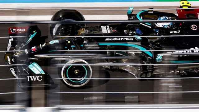 Valtteri Bottas, en el Gran Premio de Rusia