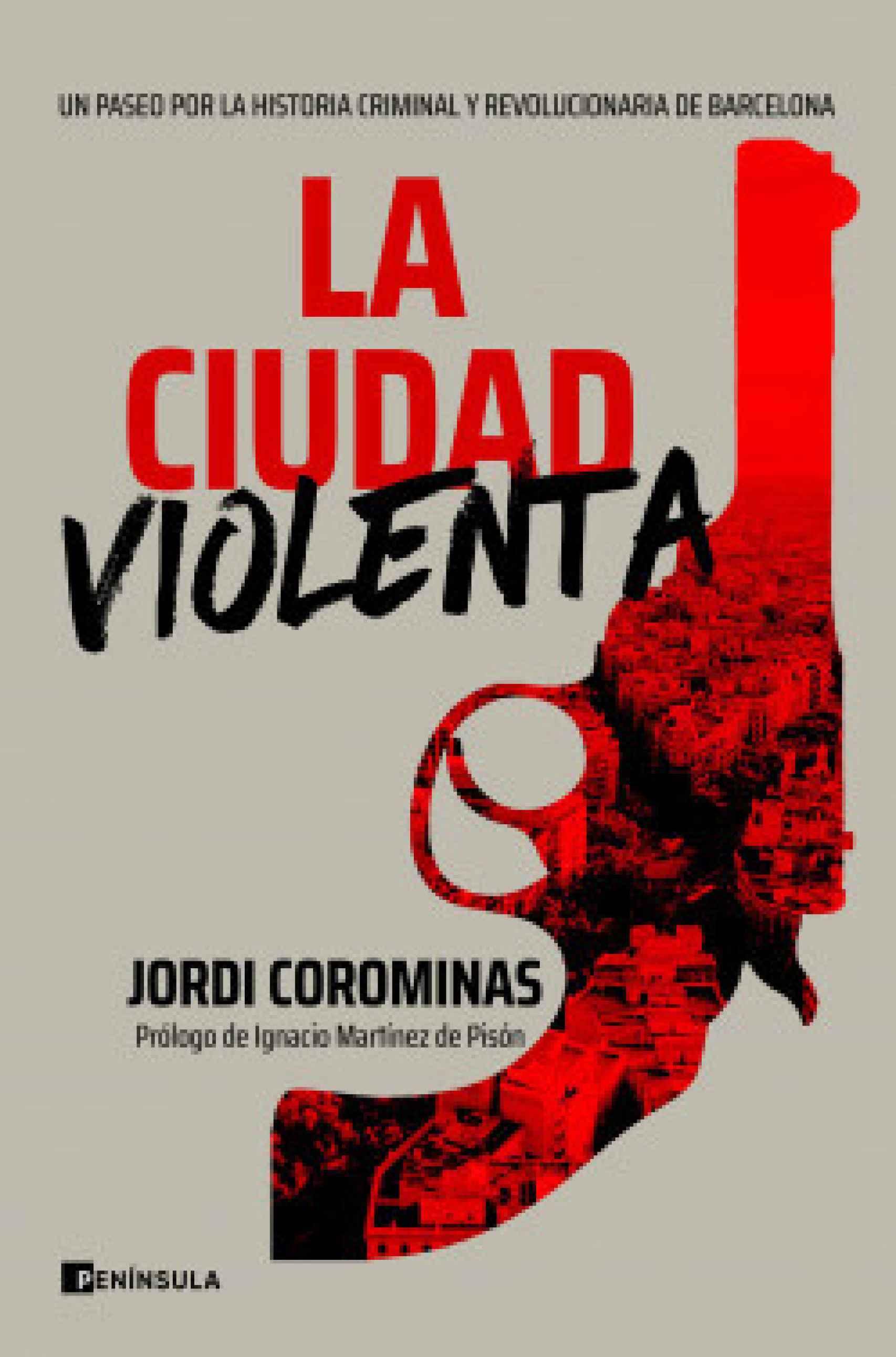 Portada de 'La ciudad violenta' (Península).