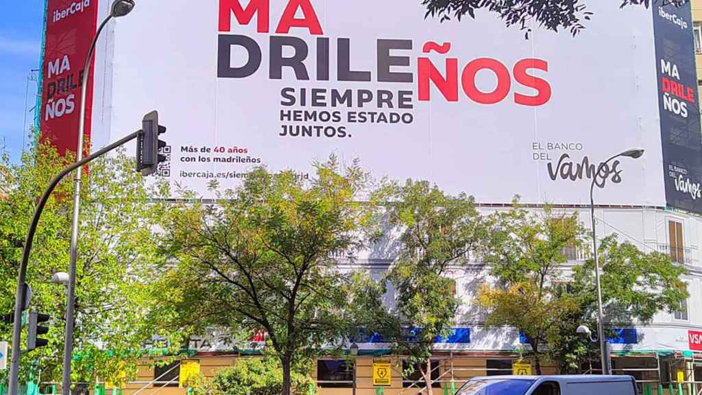 Campaña 'Madrileños' de Ibercaja.