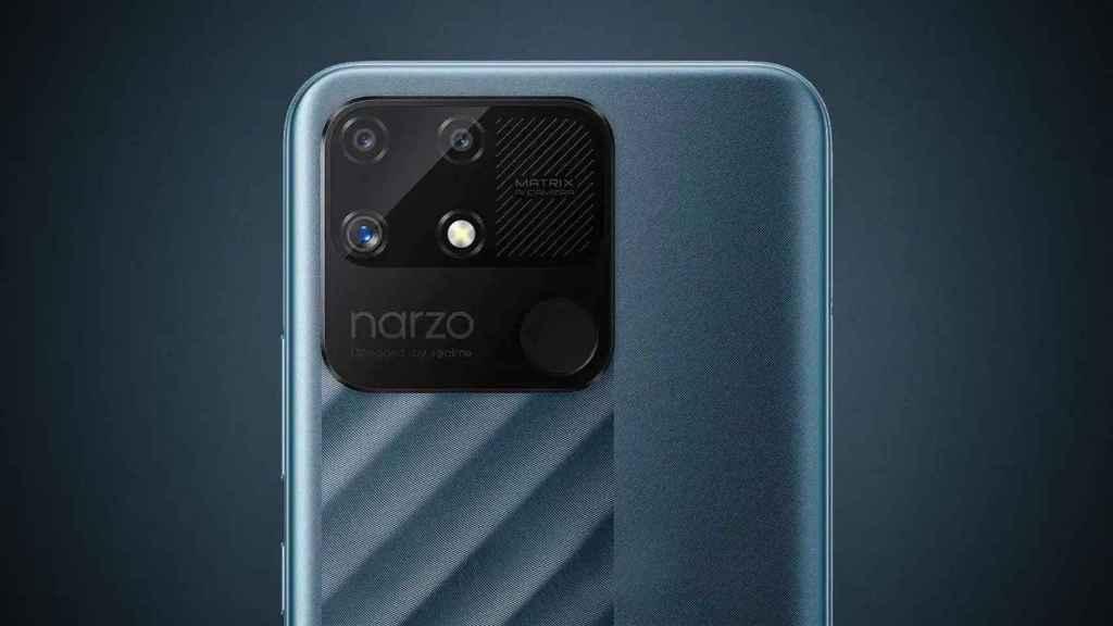 Realme Narzo 50A cámaras