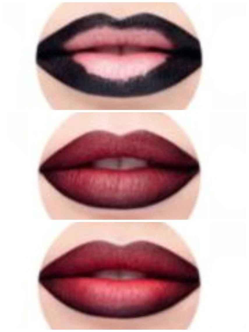 Practica el contouring labial para dar un efecto de volumen a tus labios.