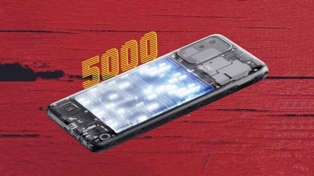 Realme Narzo 50i batería