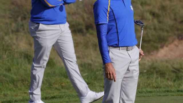 Jon Rahm y Sergio García, en la Ryder Cup 2020