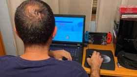 Luis se enganchó a los videojuegos con 17 años.
