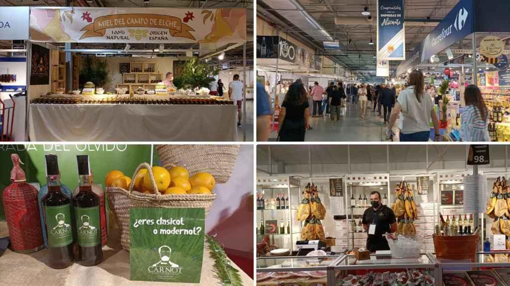 Algunos estands de Alicante Gastronómica.