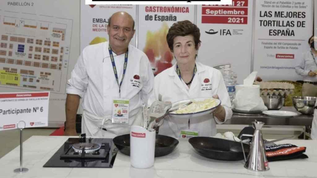 Ciri González del Restaurante La Encina (Palencia)