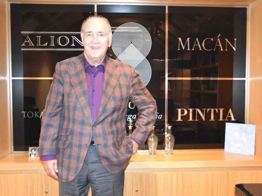 Pablo Álvarez, propietario junto a sus hermanos de la bodega más exclusiva del país y consejero delegado de Tempos Vega Sicilia