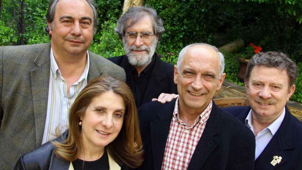 La banda Nuevo Mester de Juglaría, con quien Piqueras tiene una buena relación.