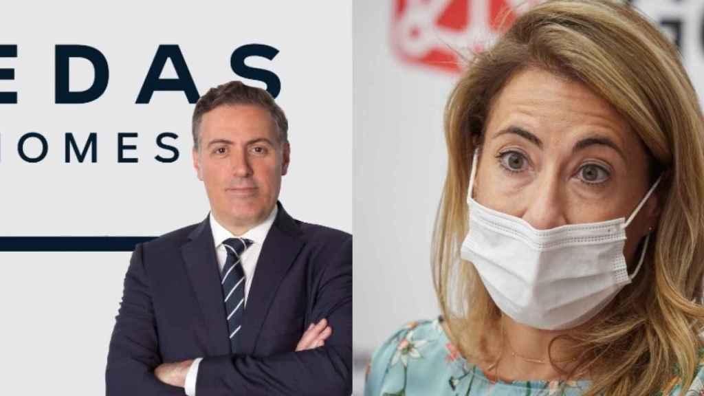 David Martínez y Raquel Sánchez.