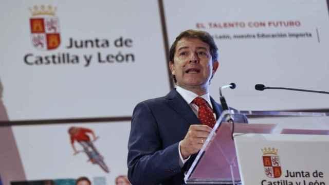 El presidente de la Junta de Castilla y León, Alfonso Fernández Mañueco / ICAL