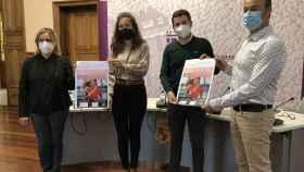 Presentación de la carrera solidaria contra el cáncer en Palencia