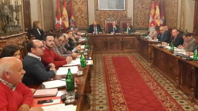 Pleno de la Diputación de Salamanca./ Archivo