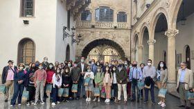 La delegación de Lebrija visita el Patio de La Salina