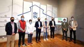 Presentación del Corriendo Entre Viñas en la Diputación de Valladolid