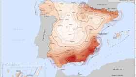 Mapa de peligrosidad sísmica en España