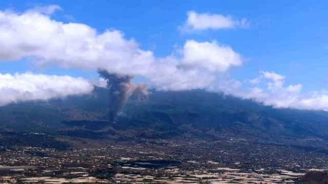 La erupción de La Palma.