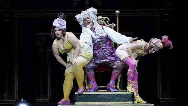 Estreno de 'La Cenerentola' en el Teatro Real.