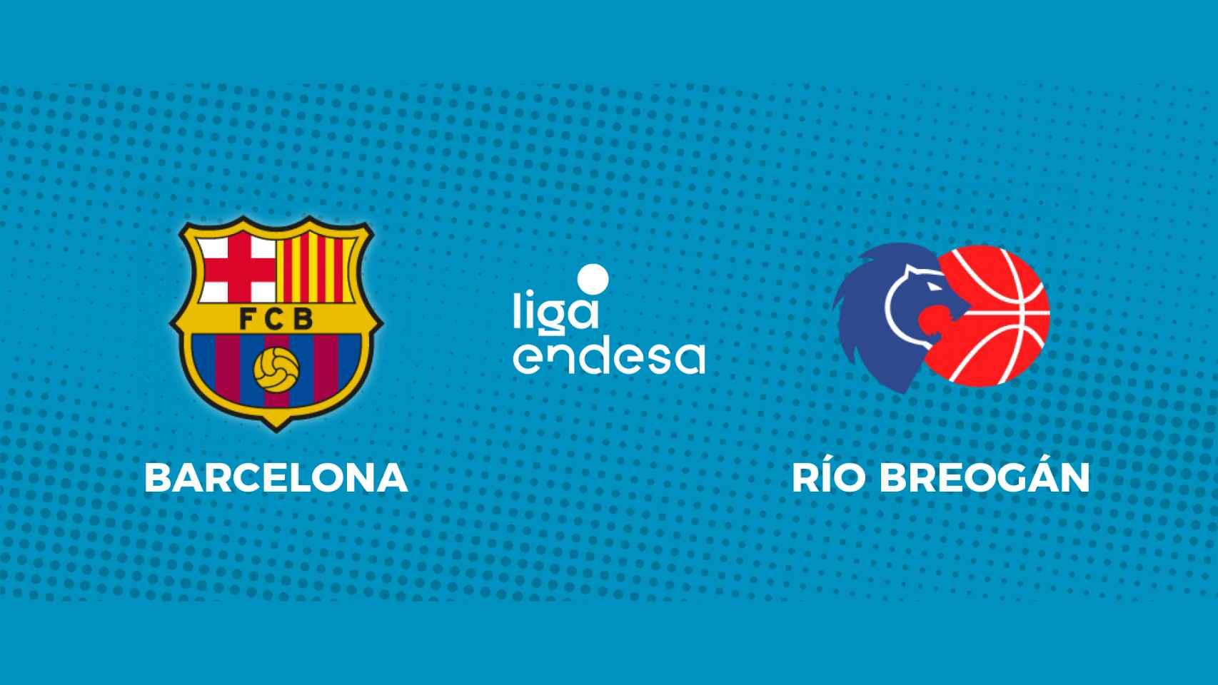 Barcelona - Río Breogán: siga en directo el partido de la Liga Endesa
