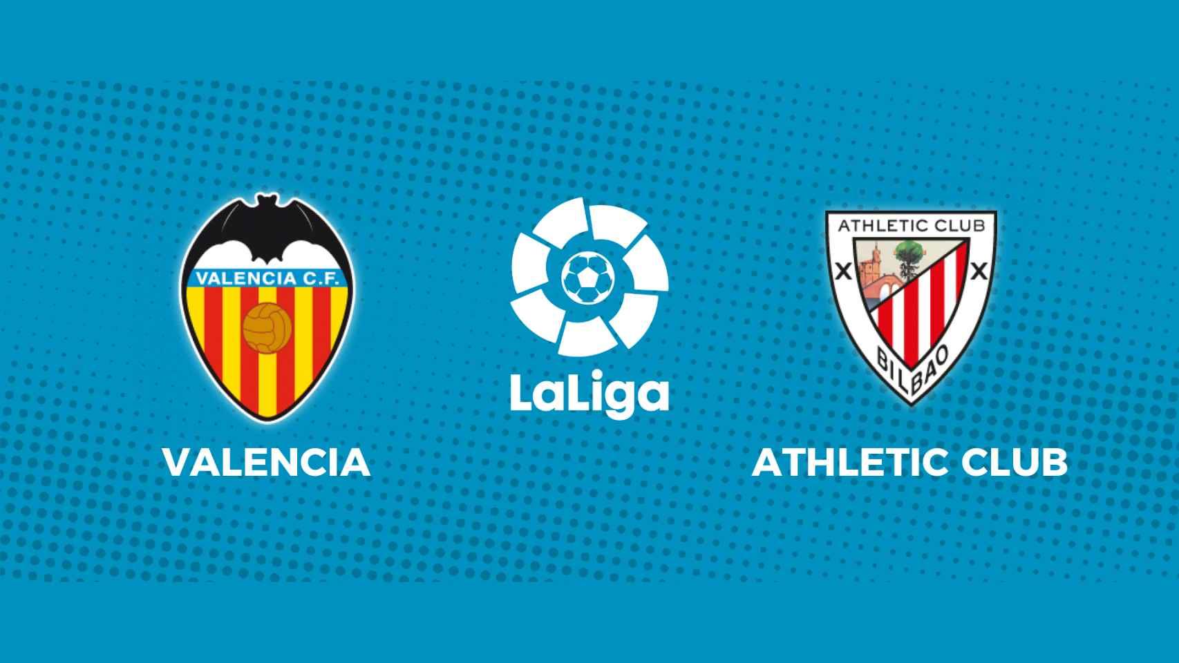 Valencia - Athletic Club: siga en directo el partido de La Liga