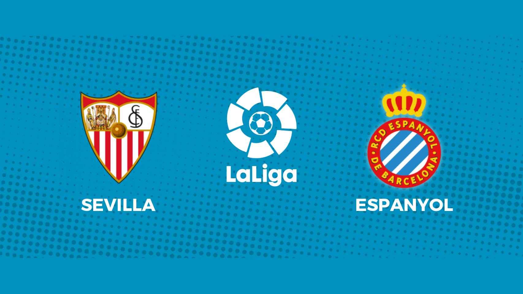 Sevilla - Espanyol: siga en directo el partido de La Liga