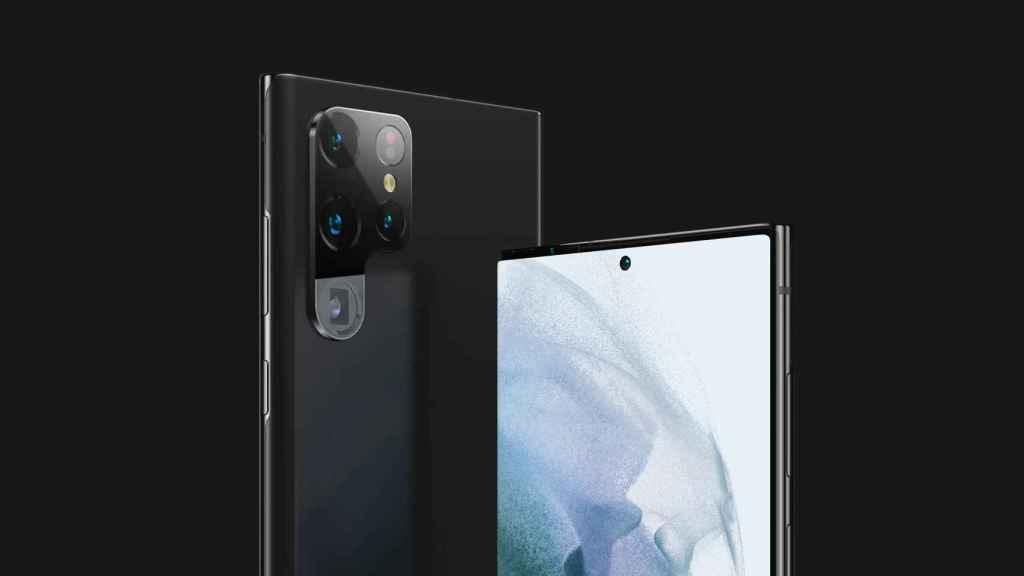 Samsung Galaxy S22 Ultra en imágenes filtradas