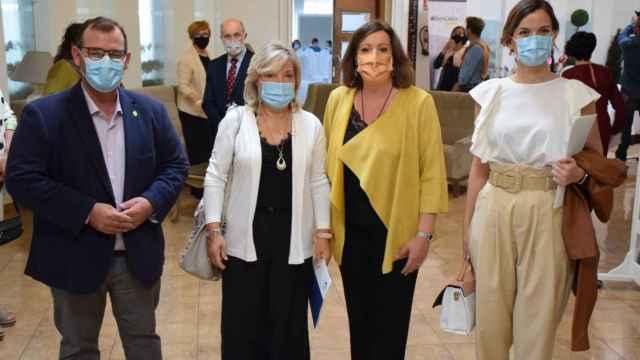 La consejera Patricia Franco, este viernes en un acto en Tomelloso (Ciudad Real)