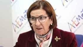 Paloma Castro, delegada de la Aemet para Castilla-La Mancha. Foto: Ó. HUERTAS