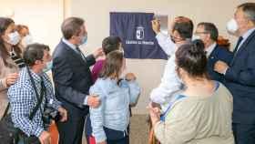 García-Page en la inauguración de las nuevas viviendas para personas con discapacidad en Cuenca
