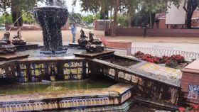 Desoladoras imágenes de esta joya de cerámica de Talavera en su parque más emblemático