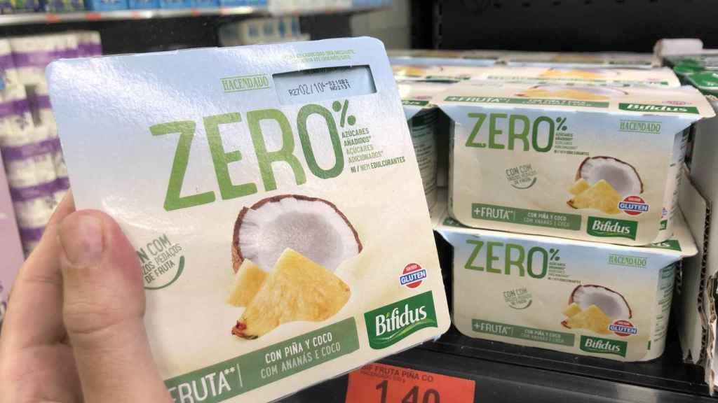 Bífidus Zero%, el último producto estrella de Mercadona que se fabrica en Toledo