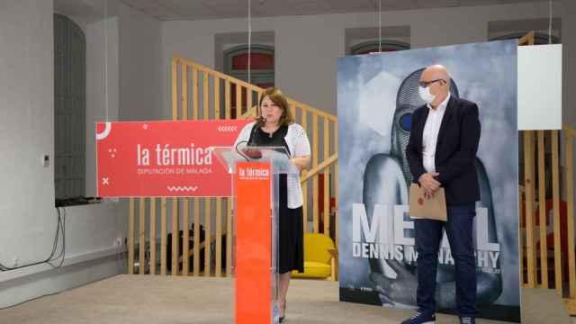 La vicepresidenta cuarta de la Diputación de Málaga, Natacha Rivas.
