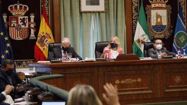 Pleno del Ayuntamiento de Marbella.