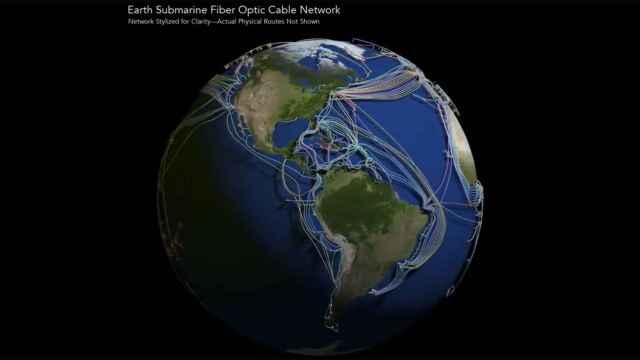 Red submarina de cables.