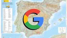 Google y el mapa de caminos de Santiago