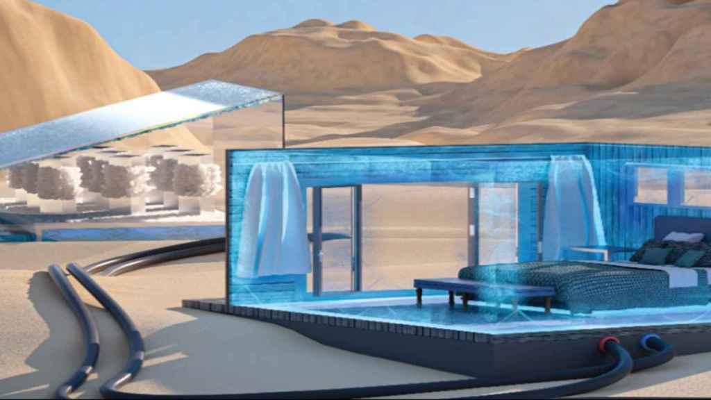 Un sistema de refrigeración para obtener aire acondicionado gratis.