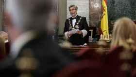 Carlos Lesmes, presidente en funciones del CGPJ.