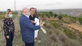 Suelta del águila en Jorquera (Albacete) con una bonita historia detrás de la rapa