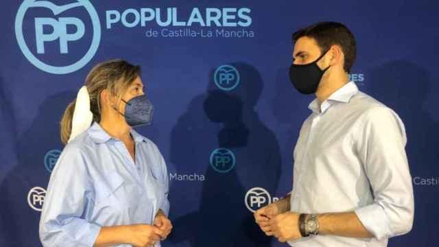 Ana Guarinos y Santiago Serrano