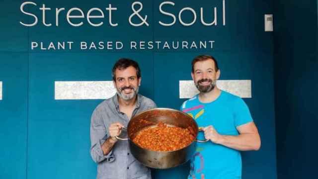 Nacho Sánchez y Javier Esquina, propietarios de Street & Soul
