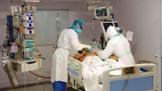 Ingresado en un hospital por Covid