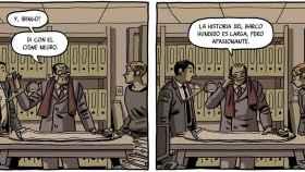 Paco Roca ilustra el guion de Guillermo Corral, ahora adaptado por Amenábar en una serie.
