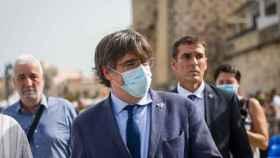 El expresidente de la Generalitat Carles Puigdemont acude al festival Adifolk en Cerdeña este sábado.