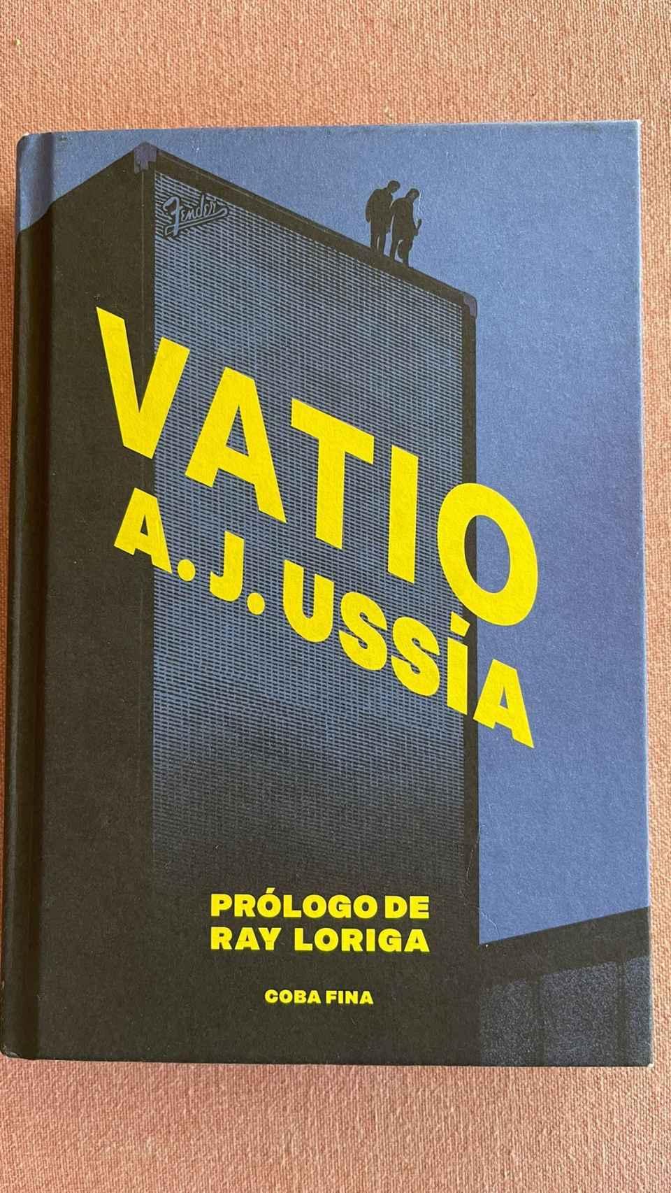 El ampli Fender en la portada de Vatio.