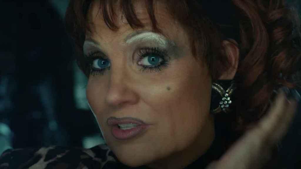Jessica Chastain como Tammy Faye.