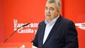 Santos Cerdán, en el XIV Congreso del PSOECyL